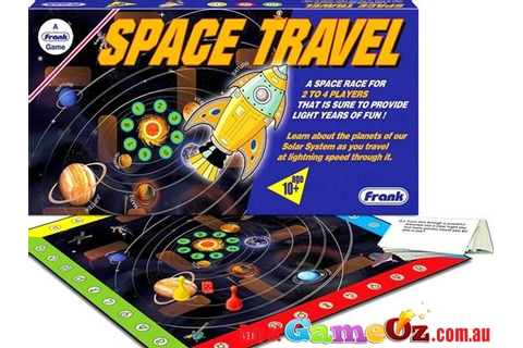 Space Travel Board Game