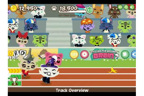 Facebook Pet Society - Stadium Hurdles Race - YouTube