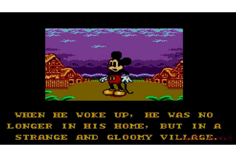 Land of Illusion Starring Mickey Mouse | [Sega Master ...