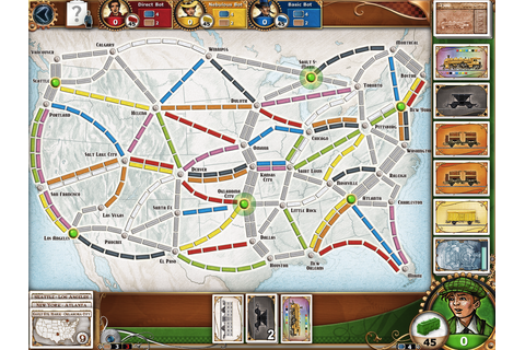 Review: Ticket to Ride on iPad a high-quality port of ...