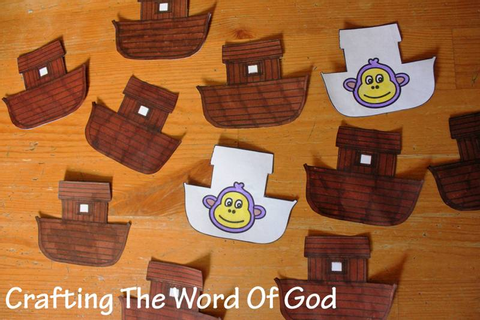 Noahs Ark Match Game « Crafting The Word Of God