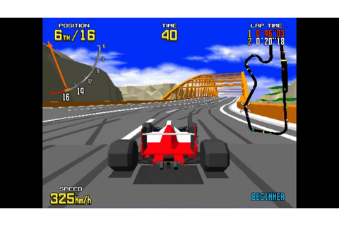 Virtua racing arcade de Zest Nelwyn - YouTube