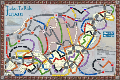 Japan (fan expansion to Ticket To Ride) | Board Game ...