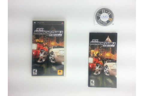 Midnight Club 3 DUB Edition game for PSP (Complete) | The ...