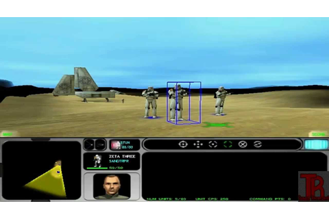 Star Wars Force Commander gameplay - YouTube