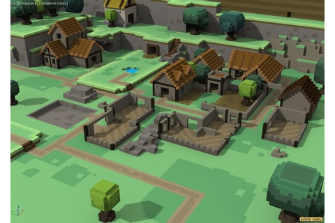 Screenshot from the game: Stonehearth | Voxels | Pinterest ...