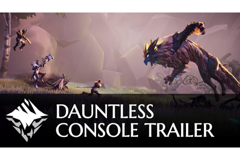 One Dauntless - Console Release Trailer | PlayStation 4 ...