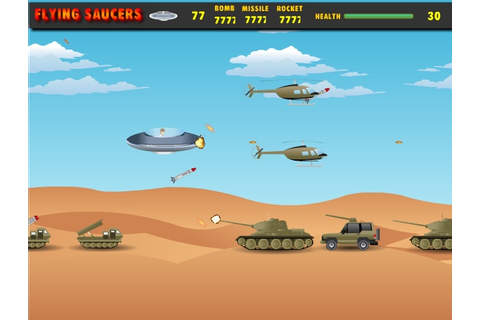 Flying Saucers Hacked (Cheats) - Hacked Free Games