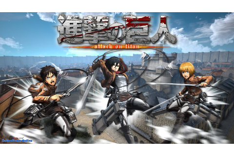Attack on Titan Game PS4 - Use 3D Maneuver Gear and Bring ...