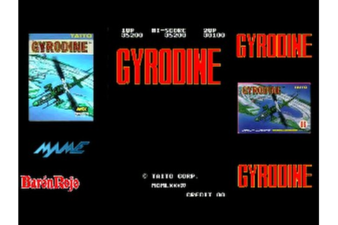 Gyrodine - Arcade - 1 Loop Clear - 1cc - YouTube