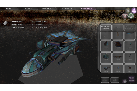 Predestination 3D Ship Designer - A Turn-Based Space 4X Game by Daniel ...
