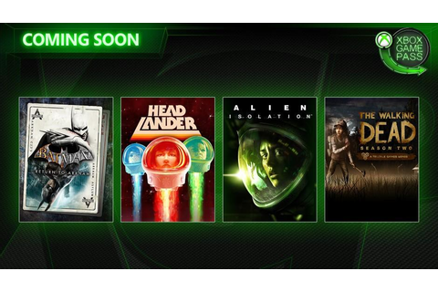 Xbox Game Pass Adding Alien: Isolation and Batman: Return ...