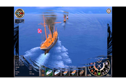 Ironclads High Seas PC 2009 Gameplay - YouTube