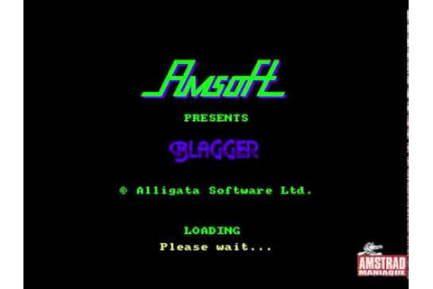 [Amstrad CPC] Blagger - Longplay - YouTube