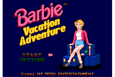 Barbie Vacation Adventure - Sega Retro