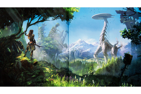 Horizon Zero Dawn's art book is as beautiful as the game ...