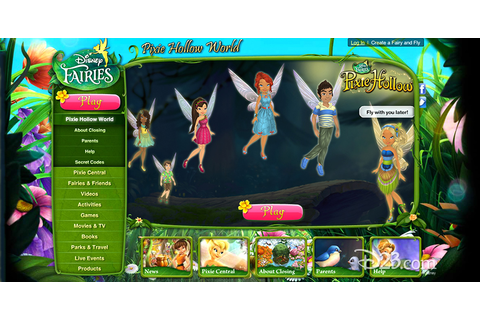 Disney Fairies Pixie Hollow - D23
