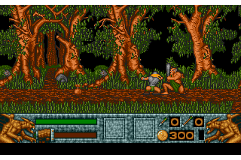 Barbarian II (1991) by Psygnosis Atari ST game