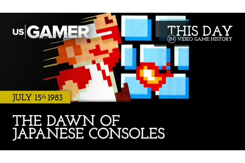 This Day in Video Game History | July 15: The Dawn of ...