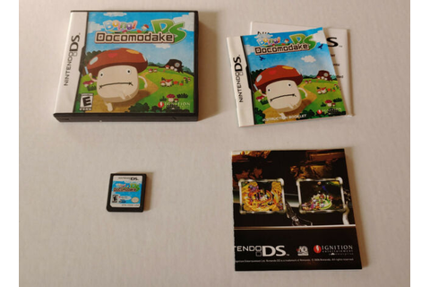 Boing! Docomodake DS -- Nintendo DS Game Complete w/ All ...