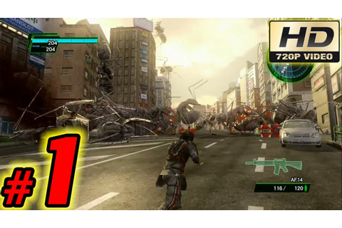 Earth Defense Force 2025 Walkthrough Guide: Part 1 - Xbox ...