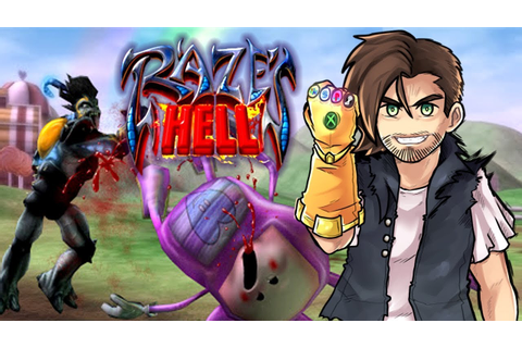 RAZE'S HELL - The Strangest Xbox Game I've Ever Played ...