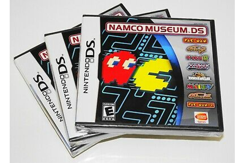 "NAMCO MUSEUM 💥 ""8 GAMES IN 1"" (Nintendo DS, 2007) 2DS 3DS ..."
