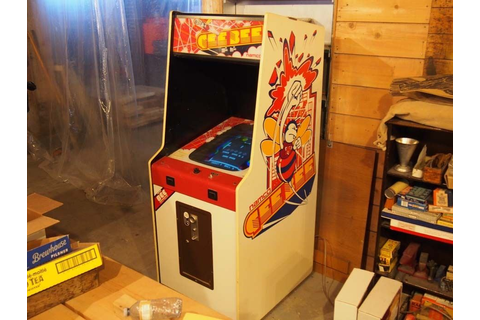 Video Arcade Game, GeeBee By Namco.