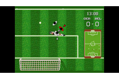 World Championship Soccer (Amiga) (Gameplay) - YouTube