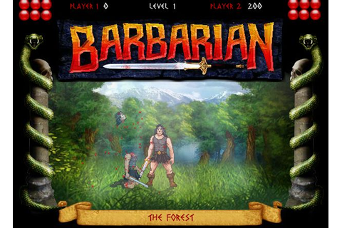 Barbarian | Fighting Games Now