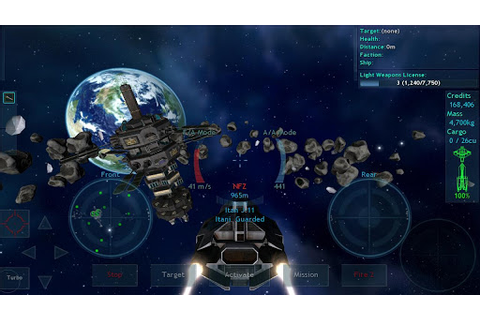Vendetta Online (3D Space MMO) » Android Games 365 - Free ...