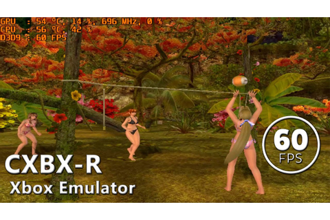 CXBX-R | Dead or Alive: Xtreme Beach Volleyball (In-Game ...