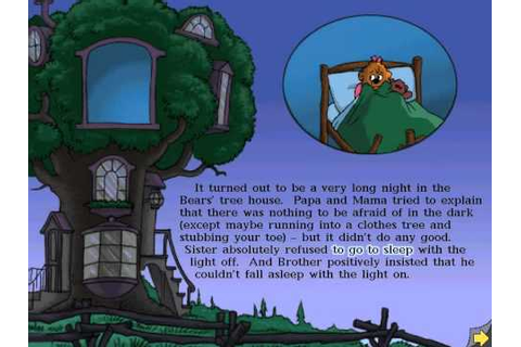 The Berenstain Bears - In the Dark - Living Books - YouTube