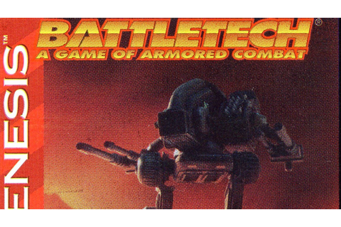 Classic Game Room HD - BATTLETECH for Sega Genesis review ...