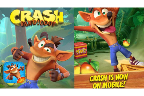 A Crash Bandicoot Mobile Game Looks To Be On The Way