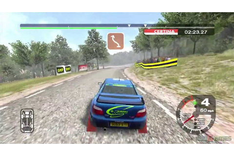 Colin McRae Rally 2005 - Gameplay Xbox HD 720P - YouTube