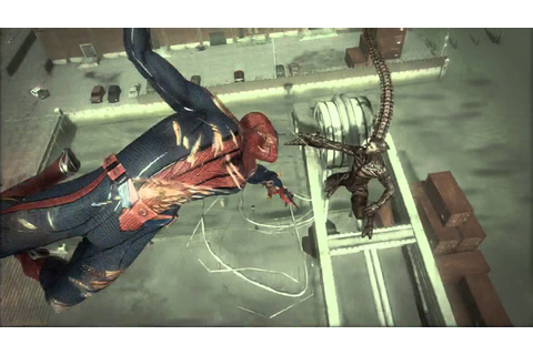 The Amazing Spider-man Scorpion Second Boss Fight - YouTube