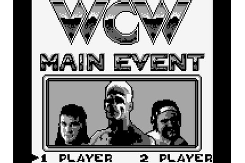 WCW Main Event Game Boy Playthrough - YouTube