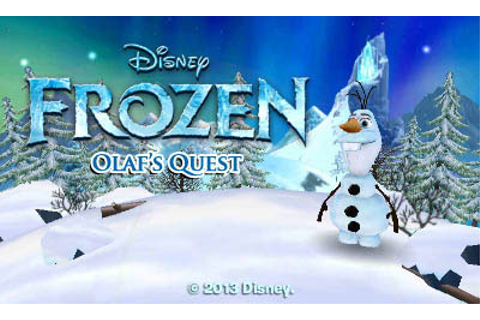 Games Fiends - Disney Frozen: Olaf's Quest (3Ds) Review