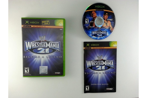 WWE Wrestlemania 21 game for Xbox (Complete) | The Game Guy