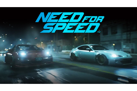Need for Speed Gamescom Gameplay Trailer (All Trailers ...