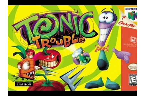 CGRundertow TONIC TROUBLE for Nintendo 64 Video Game ...