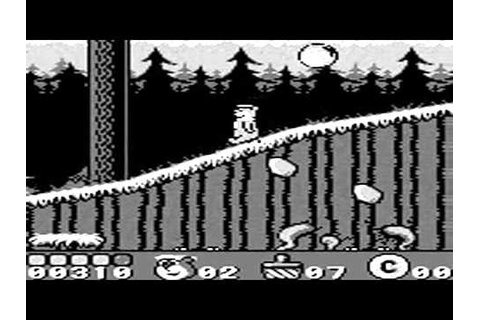 Yogi Bear's Gold Rush sur Game Boy - YouTube