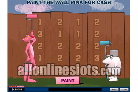 40 Line Slots - Pink Panther by Playtech