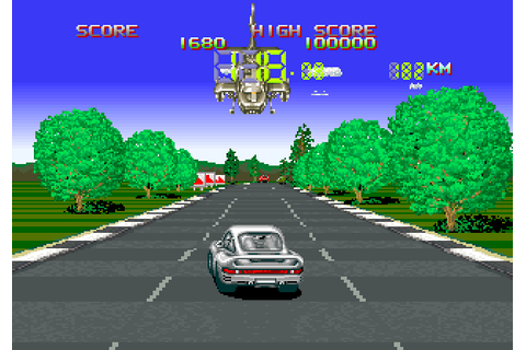 Hot Chase (1988) by Konami Arcade game