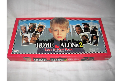 vintage 1992 thq home alone2 lost in new york board game
