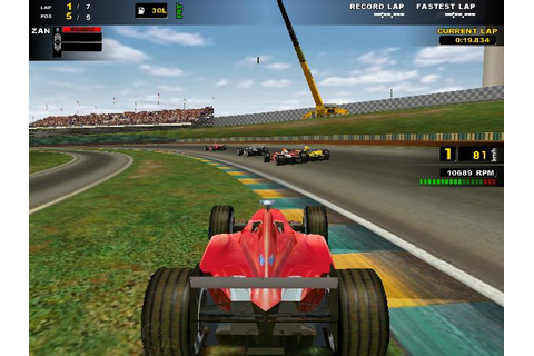 F1 Racing Championship Download (2001 Sports Game)