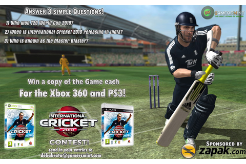 International Cricket Captain 2010 Free Download PC game ...