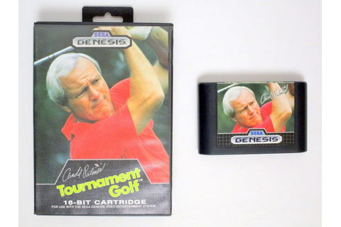 Arnold Palmer Tournament Golf game for Sega Genesis | The ...
