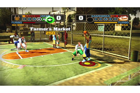 NBA Street V3 - Gamebreaker Battle - YouTube